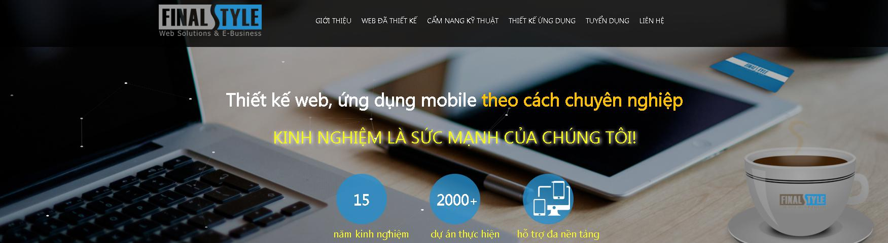 Công ty thiết kế website FinalStyle
