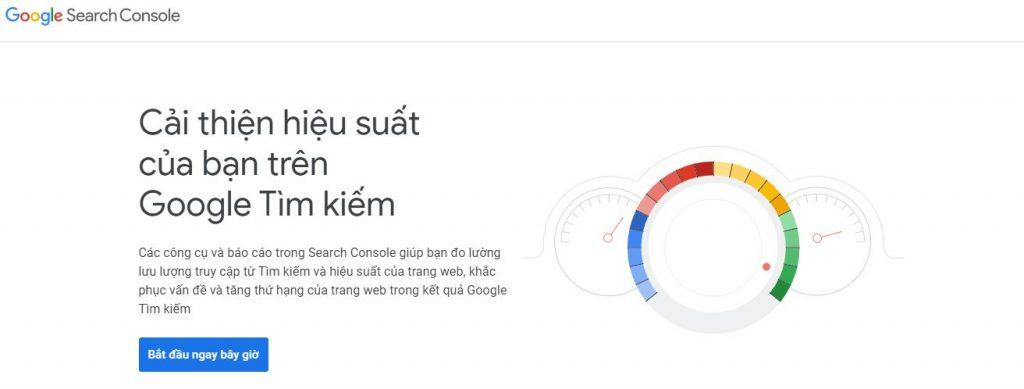google search console cho seo