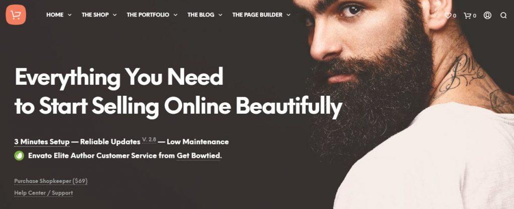 theme bán hàng online 1