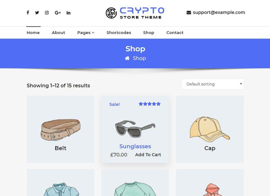 website tiền điện tử