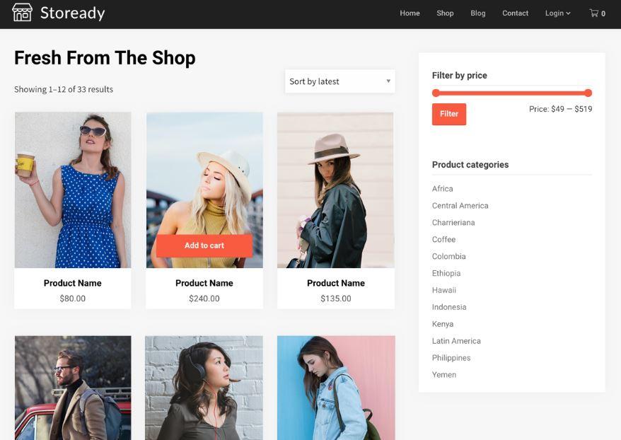 theme bán quần áo online 2