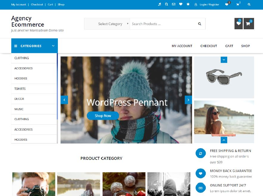 bán hàng online wordpress