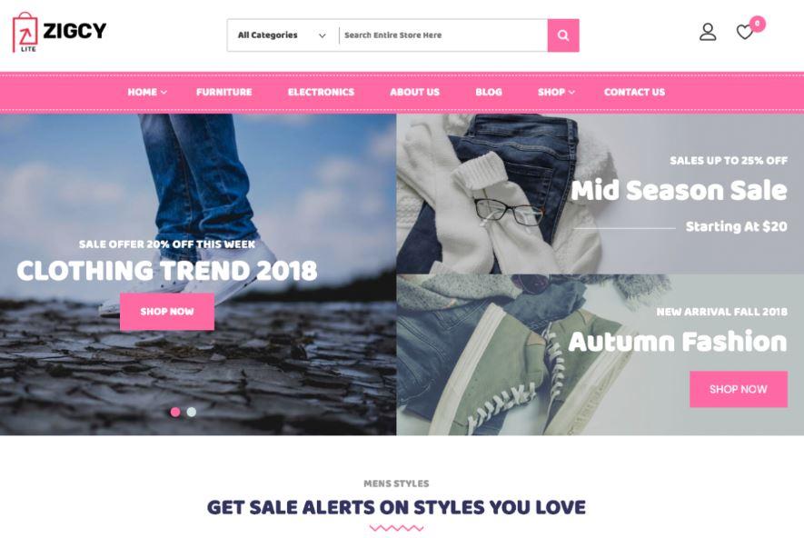 shop quần áo online