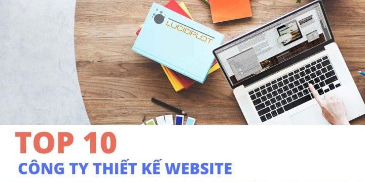 Top 10 công ty thiết kế website uy tín