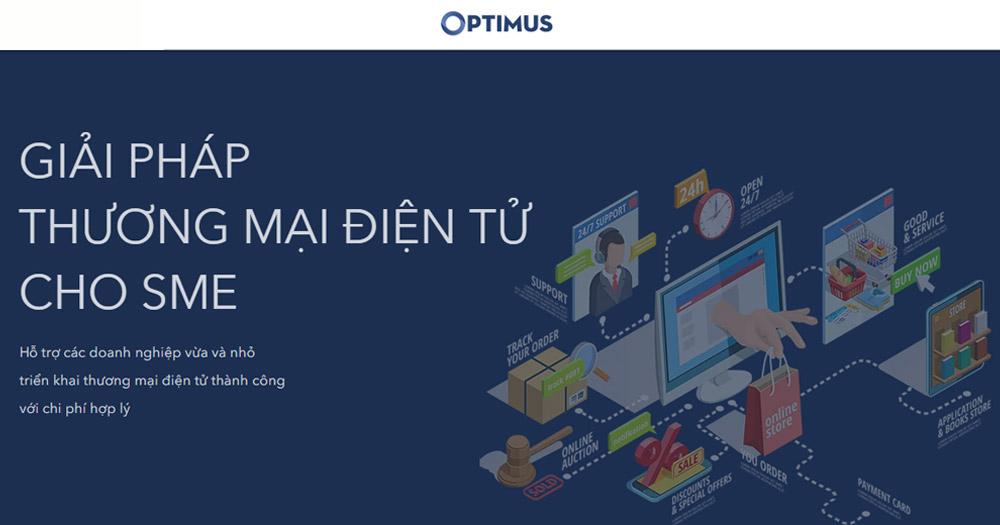 Optimus- Giải pháp thương mại điện tử cho SME