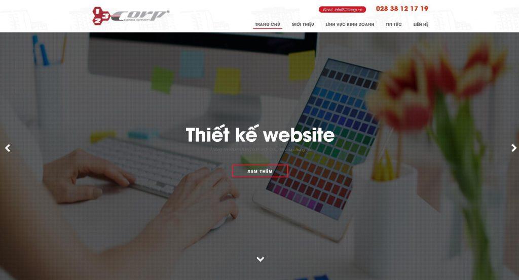 công ty thiết kế website wordpress 123 Coro