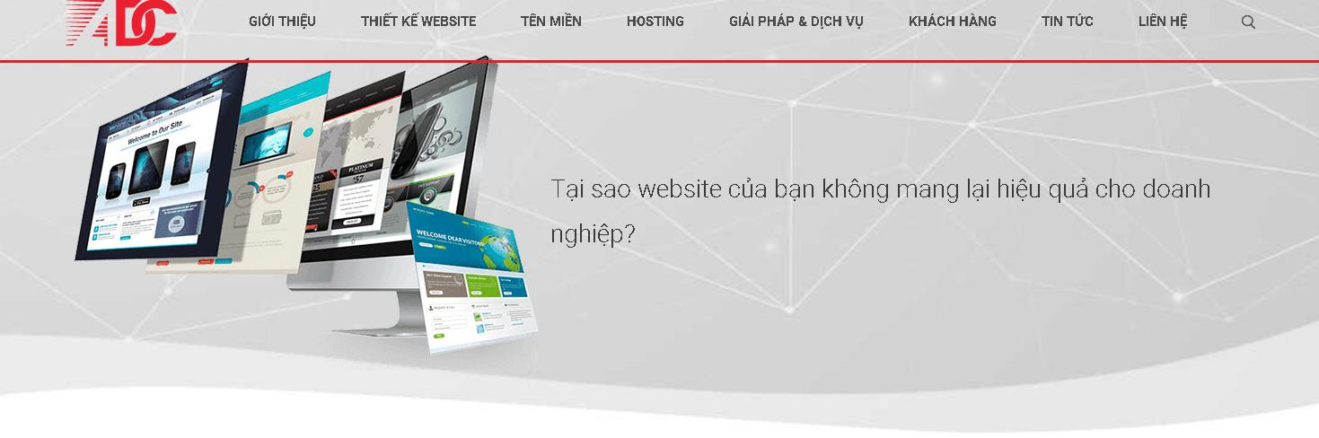 Công ty thiết kế website bất động sản ADC Việt Nam