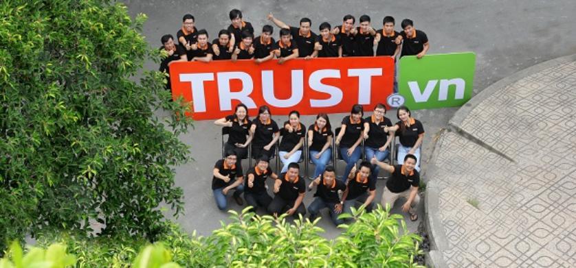 Công ty thiết kế website bất động sản TRUST.vn