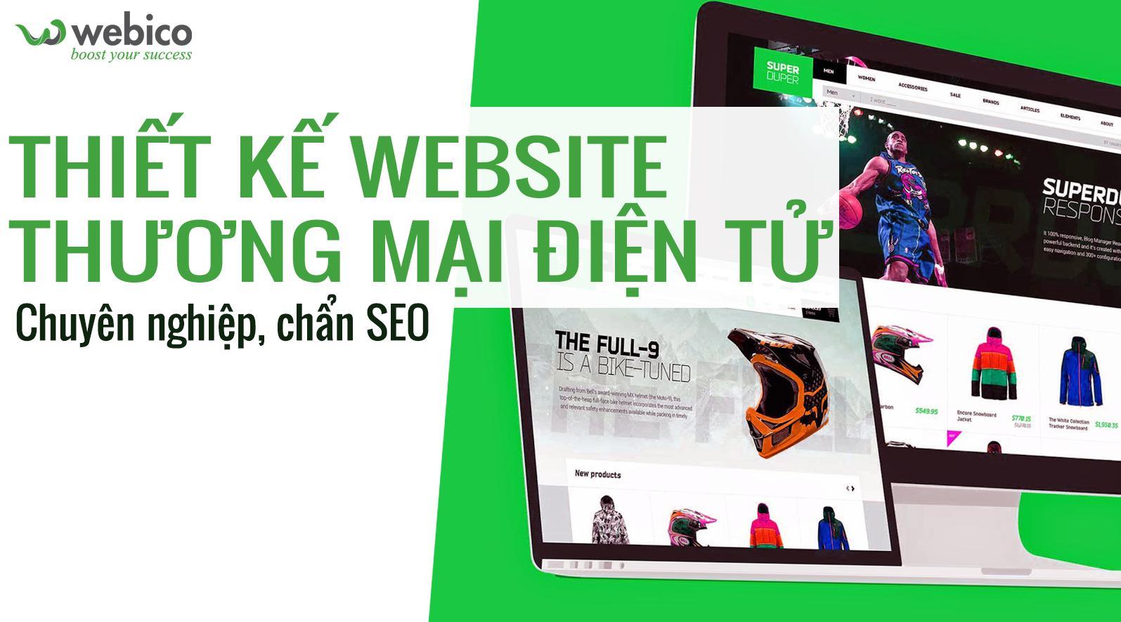 Công ty thiết kế website bất động sản Webico