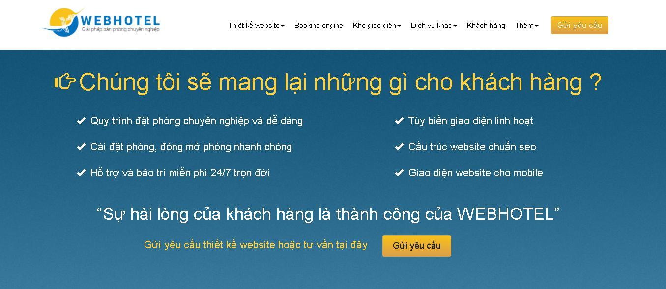 Công ty thiết kế web chuẩn seo Webhotel