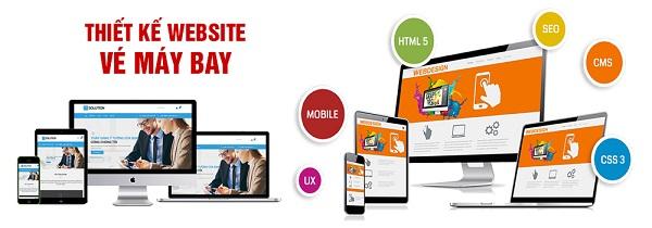Top 10 công ty thiết kế website bán vé máy bay tốt nhất tại TP.HCM