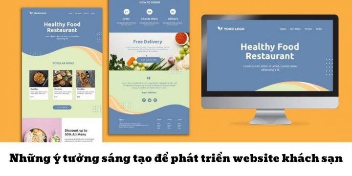 Những ý tưởng sáng tạo để phát triển website khách sạn