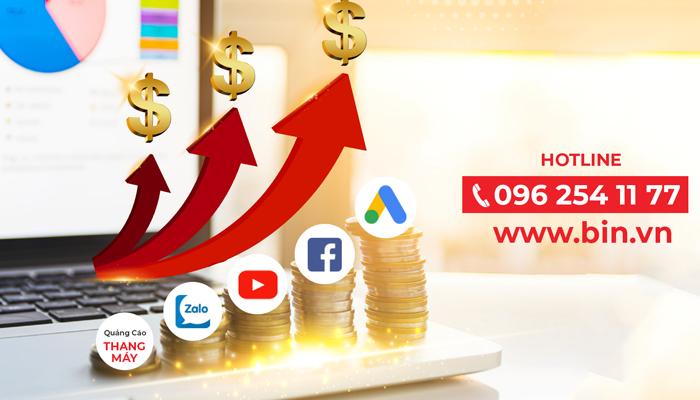 Dịch vụ quảng cáo Google, Facebook - BIN Media