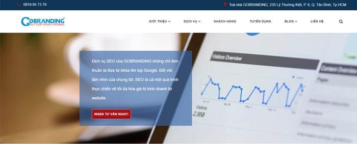 Dịch vụ tăng traffic cho website giá rẻ - Gobranding