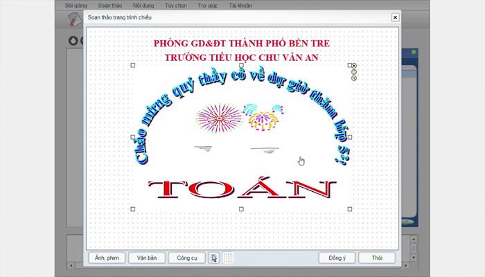 Công cụ soạn giáo án trực tuyến miễn phí - Violet