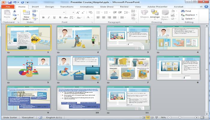 Công cụ thiết kế bài giảng Elearning - Adobe Presenter