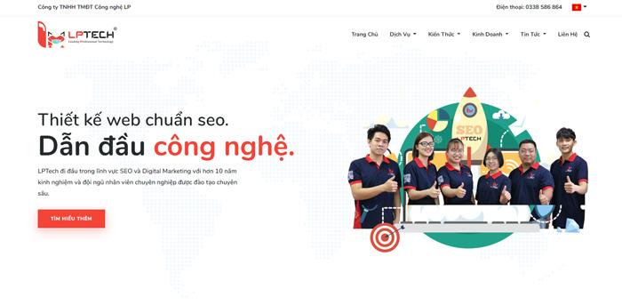 Dịch vụ chăm sóc website - LP Tech